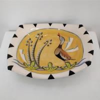 Large duck rectangular dish  by Theresa  Edwards